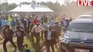 POLITICAL FIREWORKS AS DP RUTO AND RAILA SHARE PODIUM IN KISII