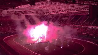 Cardiff Speedway Grand Prix 2019 fireworks
