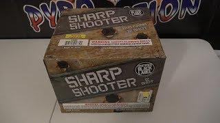 12 SHOT SHARP SHOOTER  - CERTIFIED BLACK LABEL FIREWORKS