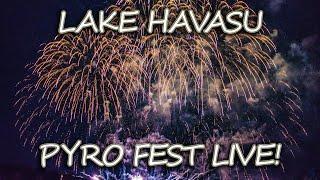 Winter Blast Pyrotechnics Show 2020 LIVE! Fireworks At Sara Park In Lake Havasu AZ