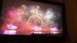 London fireworks New Year's Eve 2018