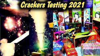 Crackers experiment, Diwali Crackers Testing 2021, Fireworks Crackers video