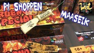 P1 Vuurwerk Shoppen in Maaseik bij Salon Roger Fireworks