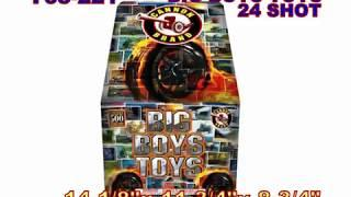Big Boys Toys Cannon Fireworks (Coming in 2019) | Red Apple Fireworks