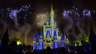 [4K] FOGOS DE ARTIFÍCIO - MICKEY'S VERY MERRY CHRISTMAS PARTY 2019