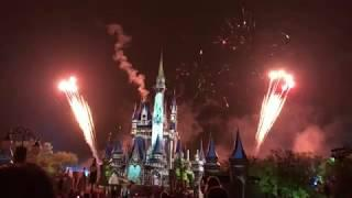 Happily Ever After Disney Magic Kingdom Fireworks 4K