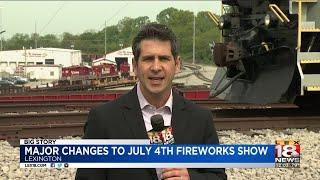 Major Changes to July 4th Fireworks Show