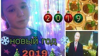 Новый год 2019// как прошёл нг?// салюты
