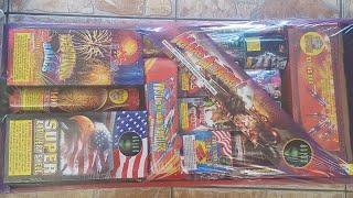 Mars Attack assortment unboxing Alien fireworks 2019