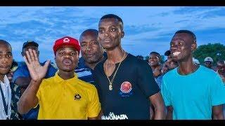King Monada Given Fireworks As Appreciation During His Performance