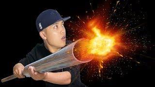 NTN - Tạo Một Vụ Nổ Tia Lửa Với 10KG Pháo  (Firing the biggest fireworks on earth)