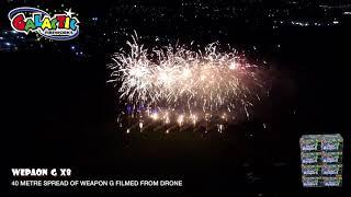 Galactic Fireworks Experiments Weapon G x 8 Drone Camera