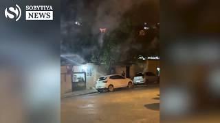 Мужчина с помощью дрона обстрелял соседей фейерверком.