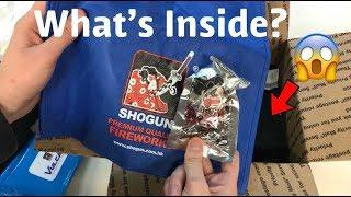 A CARE-PACKAGE Unboxing from Shogun Fireworks!