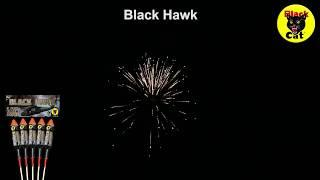Black Hawk Rockets by Black Cat Fireworks