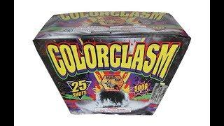OX5101 COLORCLASM 25 SHOT - MAD OX FIREWORKS