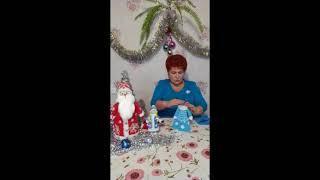 Новогодние игрушки, бусы и хлопушки   мастер   класс для детей  Видеопрограмма  15 12 2020