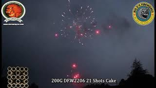 """Fly Crown! 200 Gram Cake by """"Doremi Fireworks"""" NEW FOR 2021!"""