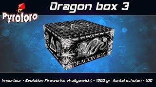 Dragon box 3 - Evolution Fireworks (Nieuw 2018)