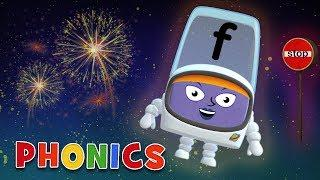 Phonics - Learn to Read | F for Fireworks! | Alphablocks
