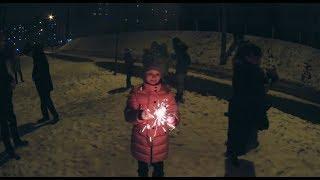 Встречаем Новый Год.  Очень крутые фейерверки и салюты!!!