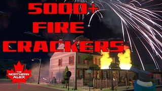 5000+ Fireworks in one house - what could go wrong? Fireworks Mania