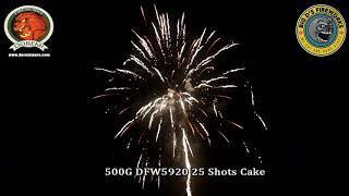 "Lost Light! 500 Gram Cake by ""Doremi Fireworks"" NEW FOR 2021!"
