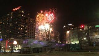 Fireworks light up Kansas City as the Chiefs win the Super Bowl LIV