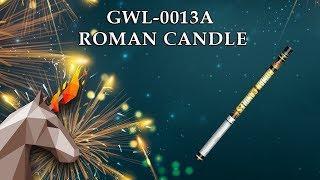 "GWL-0013A Римская свеча / Roman candle (1,5"" x 8) пиротехника оптом ""ОГОНЕК"""