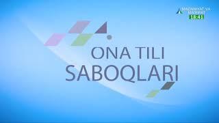 Ona tili saboqlari | Бугун фонетик ўзгаришлар мавзусини давом эттирамиз [29.10.2020]