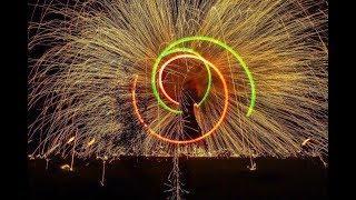 Грандиозное огненное шоу. Новороссийск. 15.12.2018. «Вместе Зажигаем»