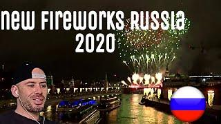 REACTION to New Year's 2020: Russia rings in New Year with fireworks display