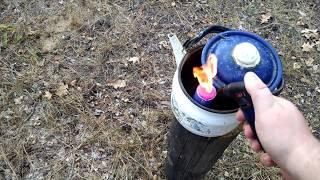Взрыв петарды Корсар 12 в чайнике
