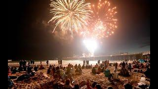Pismo Beach fireworks display beats the fog and wows the crowds