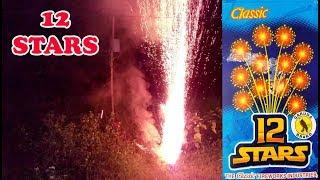 12 Stars Cracker from Classic Fireworks - Mini Aerial Cake