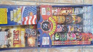 New* Ninja fireworks Blockbuster Assortment unboxing 2019