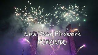 2019 New Year Countdown | Toronto | Nathan Phillips Square Fireworks |
