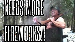 Blazing Fire Fall Redneck 4th of July Drunken Fireworks & Tractor Pull Party - Vuja de Savagery