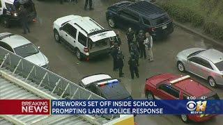 Student Prank Involving Fireworks Inside Duncanville High Results In Large Police Response