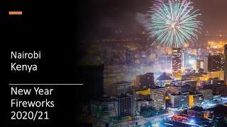 Nairobi - New Year Fireworks - 2020/2021 - Kenya