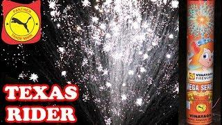 Texas Rider from Vinayaga Fireworks - Large Aerial Crackling Shell