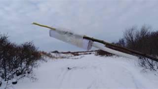 Взрываем петарды смодельные и запускаем ракету