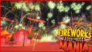DESTROYING AN ENTIRE NEIGHBORHOOD With a Firework Display! | Fireworks Mania