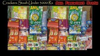 Anil Fireworks Stash under 3000 Rs | Cracker under 3000 Rs