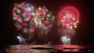 Honolulu Festival Fireworks [4K]