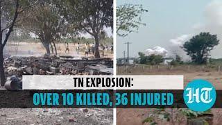 Explosion at fireworks factory in Tamil Nadu: Over 10 killed, 36 injured
