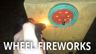 "Lighting ""Wheel"" Fireworks!"