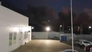 Пожар магазина пиротехники на рынке Классик Ростов на дону