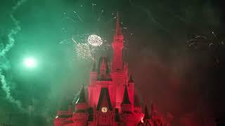 Walt Disney World July 4th Magic Kingdom Fireworks