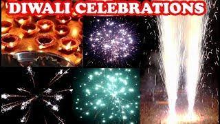 Diwali Celebration 2018 - All Fireworks Testing by Youtuber Shubham !